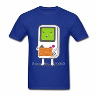 Men S T Shirts Game Boy Owner Looking Comical Seeking Business Cool Round Neck Tops Short