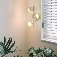 Lâmpada de parede led criativo simples industrial molecular corredor varanda escada turn-around lâmpada arte nightcap lâmpada lm4121402