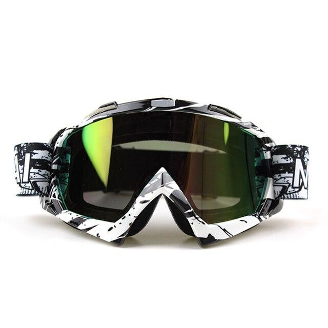Nordson ao ar livre óculos de proteção da motocicleta ciclismo mx fora de estrada de esqui esporte atv bicicleta da sujeira óculos de corrida para a raposa motocross óculos google 4