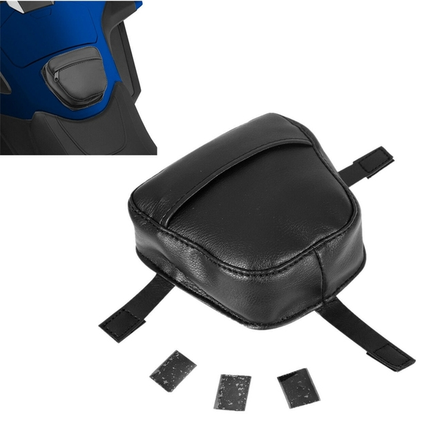 """Motorcycle 6"""" x 5"""" x 1.5"""" Tour Tank Pouch Bag For Honda Gold Wing GoldWing GL1800 1800 2018"""