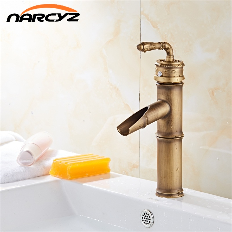 Free shipping Bathroom tap  toilet Antique brass finishing basin faucets single hand wash basin tap XT936Free shipping Bathroom tap  toilet Antique brass finishing basin faucets single hand wash basin tap XT936