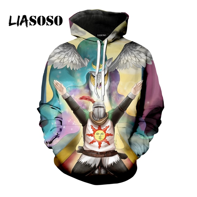 LIASOSO NEW Game Dark Souls 1 2 3 Praise The Sun shirts 3D Print t shirt/Hoodie/Sweatshirt Unisex Hipster Funny Cool Tops G1341