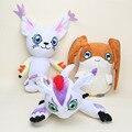 27-30 см Digimon Digimon Adventure Tailmon Кошка Gomamon Patamon Плюшевые Игрушки Мягкая Фаршированная Куклы