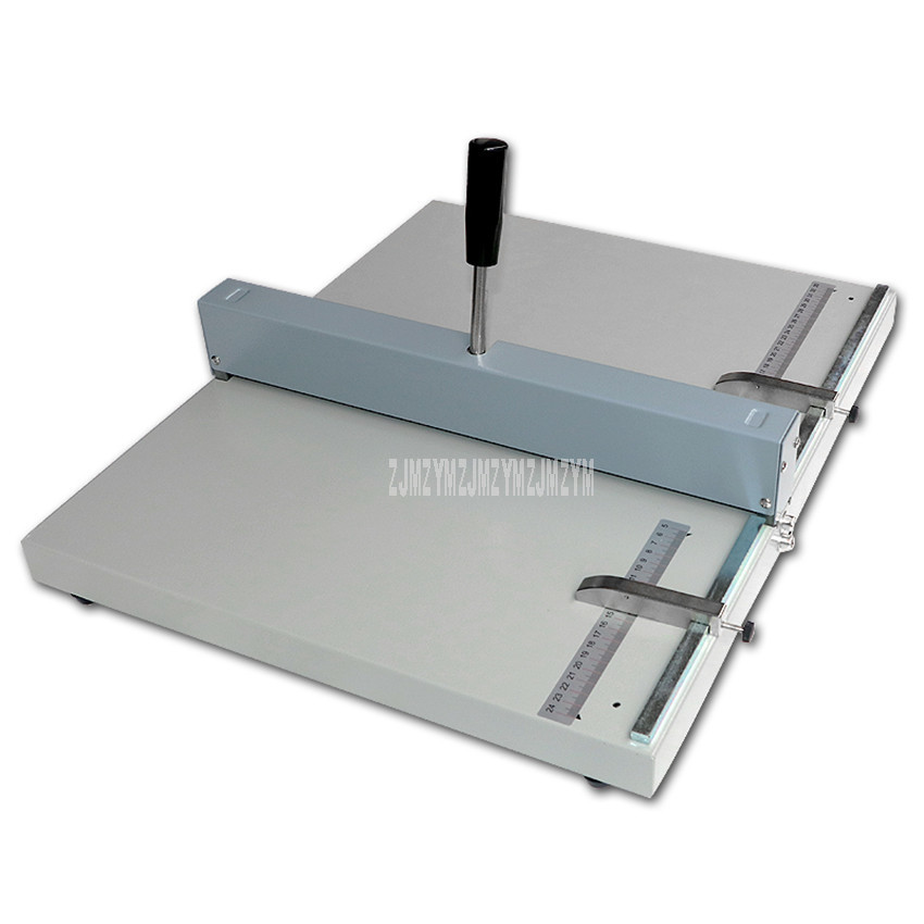 H460 Manual Hand Operated Paper Creasing Machine Creaser Max 46cm A3 Size Line Indentation Machine For Card Photo Greeting Card H460 Manual Hand Operated Paper Creasing Machine Creaser Max 46cm A3 Size Line Indentation Machine For Card Photo Greeting Card