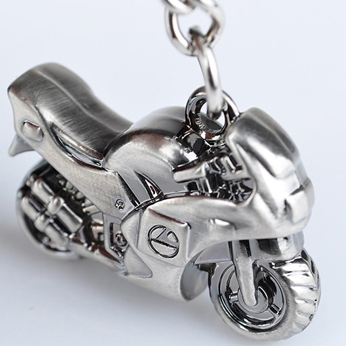 BLUELANS New Metal Motorcycle Key Ring Keychain Cute Creative Gift Sports Keyring Store key chain Car Bag Rin