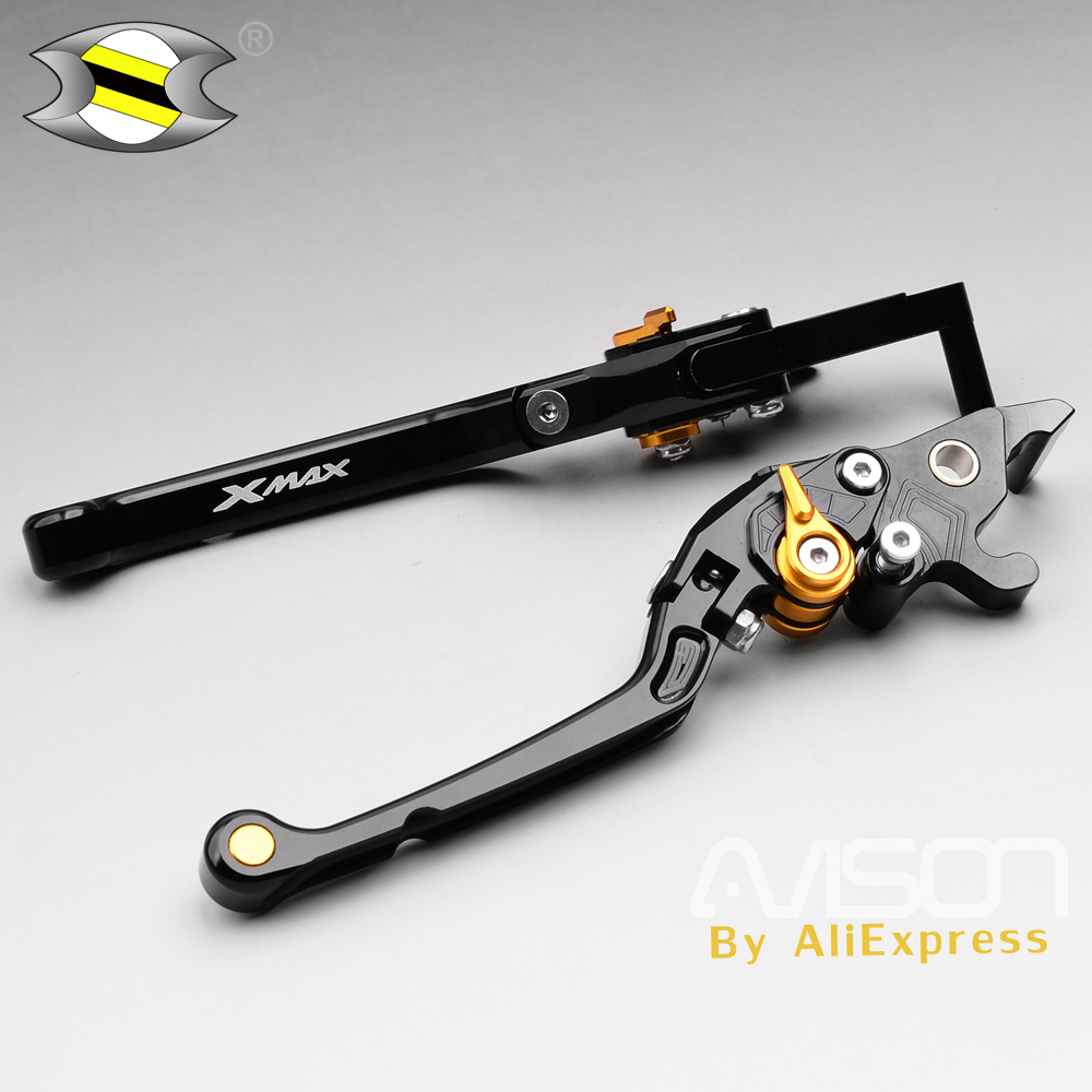 Motorcycle BrakesFor Yamaha XMAX X Max X MAX 125 250 CNC Brake Clutch Levers Automatic Locking