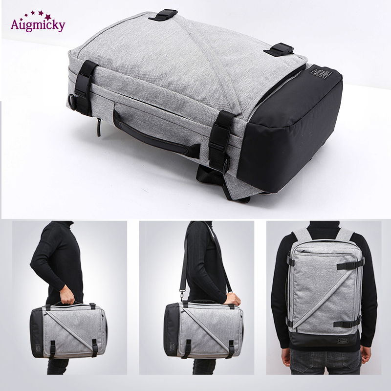 Image 5 - USB Charge Large Capacity 15.6 Laptop bag Men Backpack Travel Backpack Bags For Women Teenagers Computer School Bagpack Rucksack-in Laptop Bags & Cases from Computer & Office