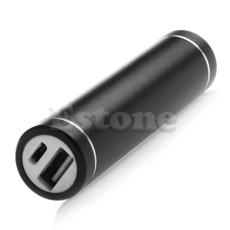 Metal 5 V USB Power Bank Caso Kit 1X18650 Caja de Batería DIY Para El Teléfono C