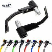 CNC 7 8 22mm Motorcycle Lever Guard Brake Clutch Lever Protective Protector Guards For Honda Kawasaki