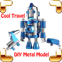 New Arrival Gift Cool Travel Story 3D Metal Model DIY Robot Cartoon Figure Alloy Cute Learning