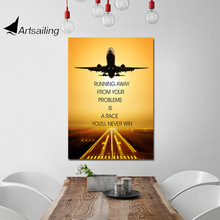 ArtSailing HD print 1 piece canvas art inspirational quotes home decoration Painting modern wall Poster UP-2426D