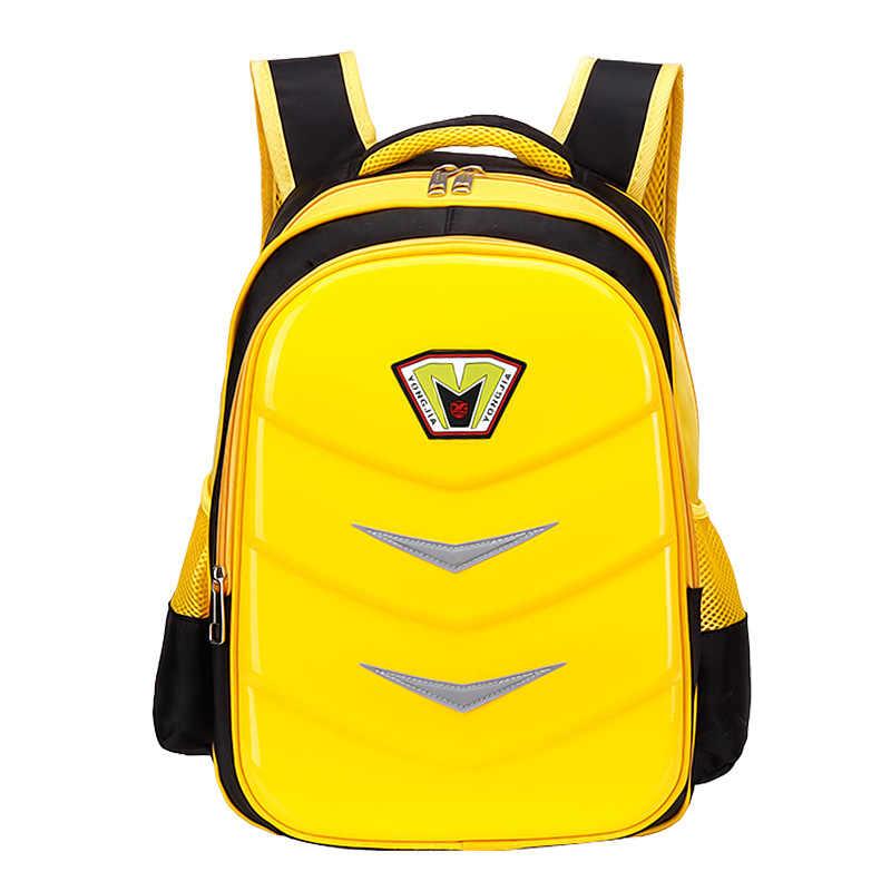 Детские Твердые оболочки школьные сумки водонепроницаемые ортопедические первичные Детские рюкзаки для мальчиков и девочек сумка Mochila Escolar сумка для детей