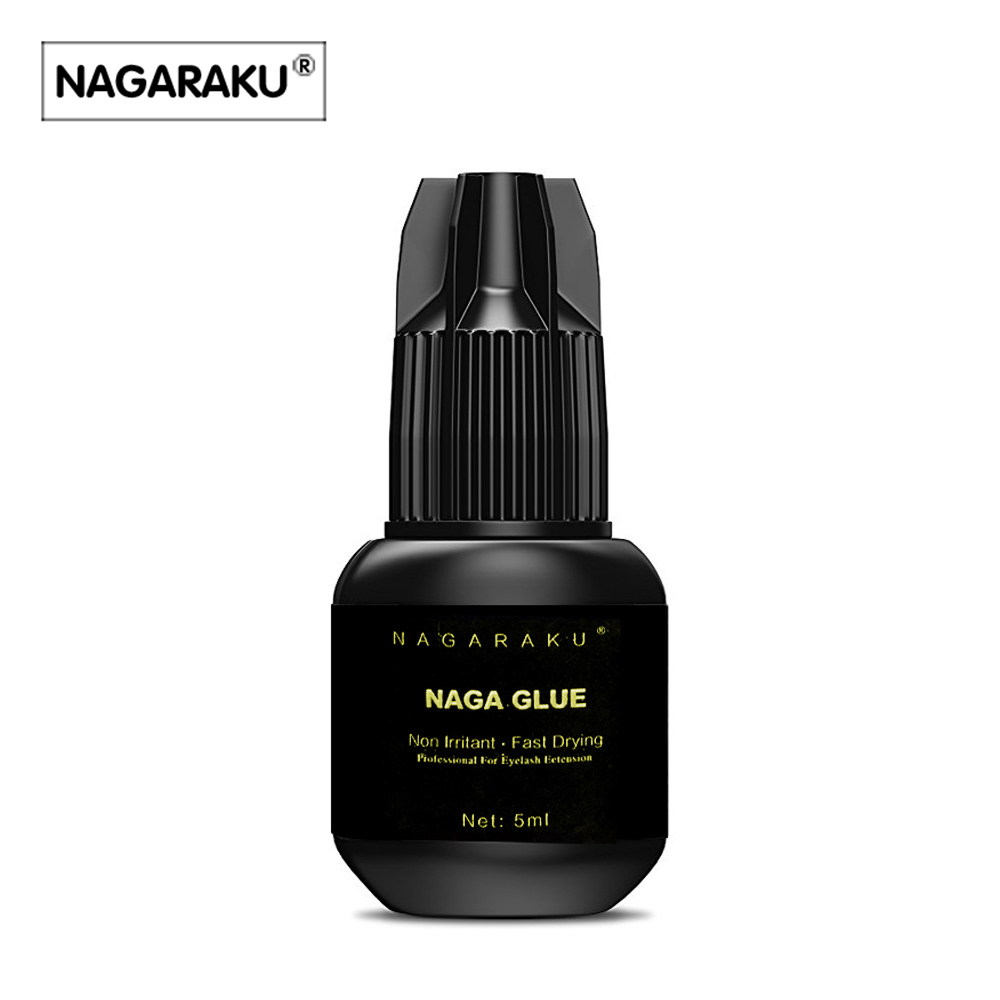Buy Nagaraku 5 Ml New Arrival Eyelash Extension Mink Single Size Glue 1 Ring For Free High Quality Fast Drying Long Lasting Time Shipping From