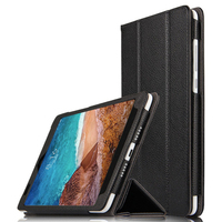 Genuine Leather Case For Xiaomi Mi pad 4 8 Filp Stand Magnet Cover For Mipad 4 pad4 Funda Screen Protector Stylus Gift