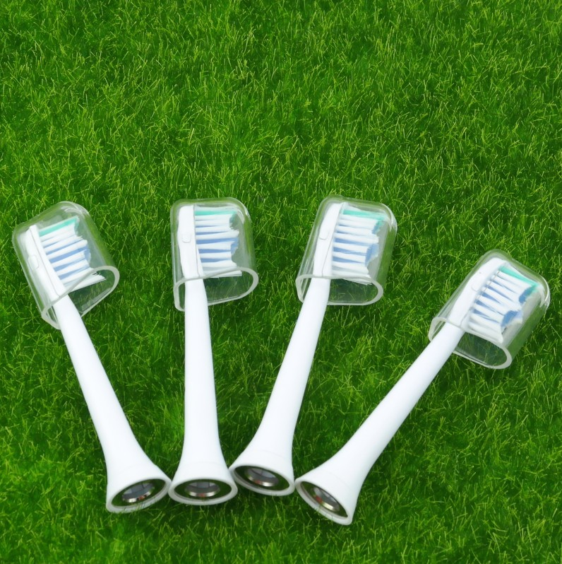 1071 kits 4 pieces electric toothbrush head for Philips +4 pieces good protection cover case стоимость