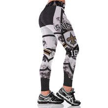 New Teams Leggings Women Match Raider Sporting Legging Fitness 3D Print High Elastic No Transparent Plus Size Pants