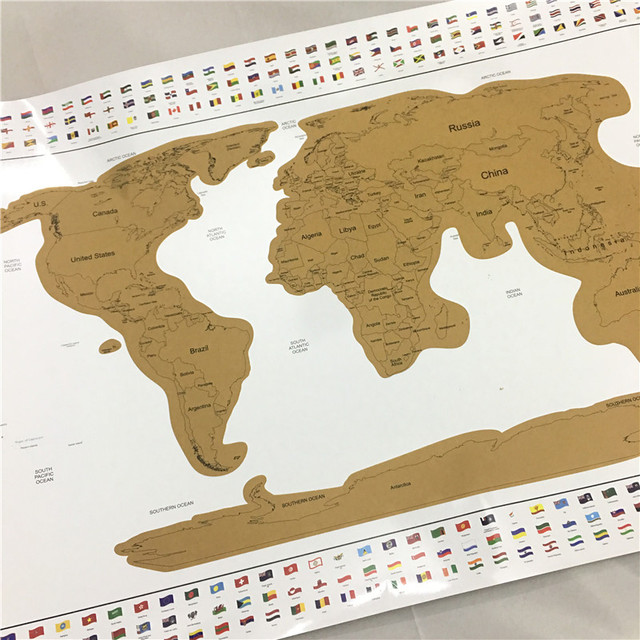 Luxury edition world map new design deluxe scratch map travel luxury edition world map new design deluxe scratch map travel scratch off world map best gift gumiabroncs Image collections