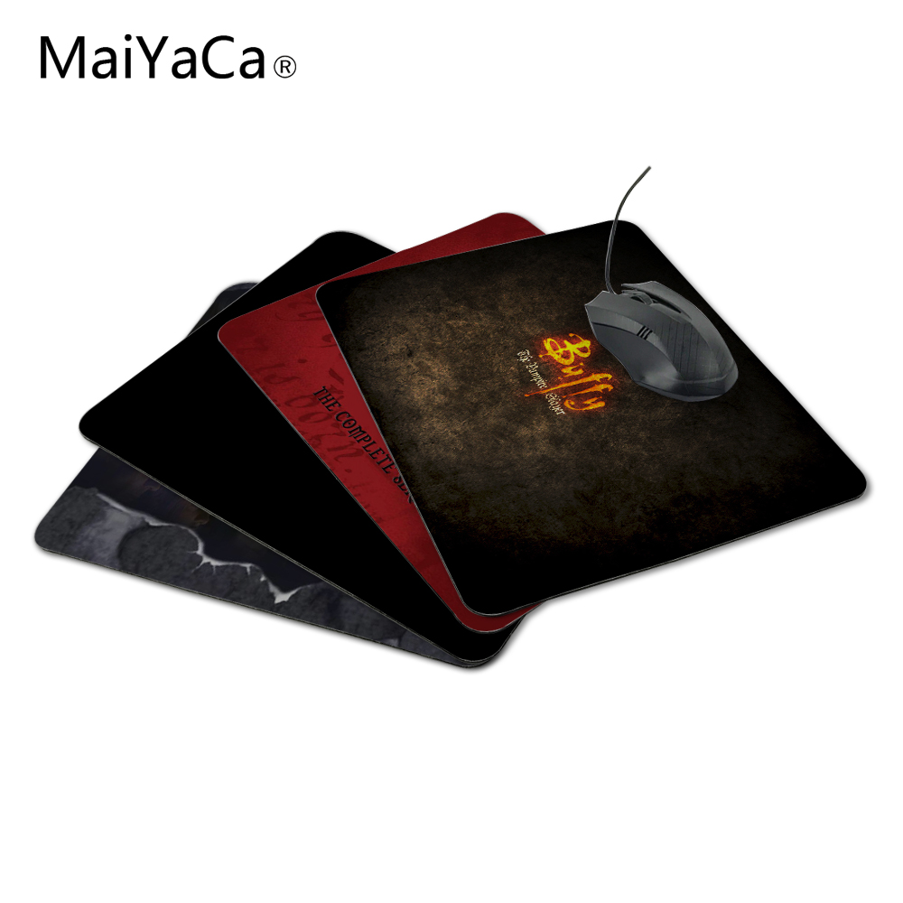 MaiYaCa Buffy The Vampire Slayer New Arrivals Mouse Pad Computer Aming Mouse Pads Not Overlock Mouse Pad