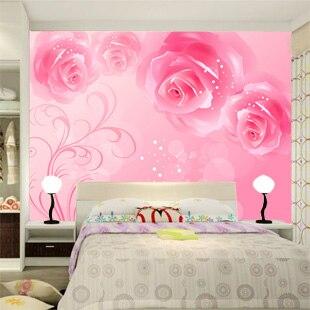 Custom large mural bedroom living room sofa TVs