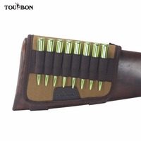 Tourbon Hunting Gun Accessories Rifle Buttstock Cheek Rest Pad Gun 10 Rifle Cartridges Ammo Shells Holder