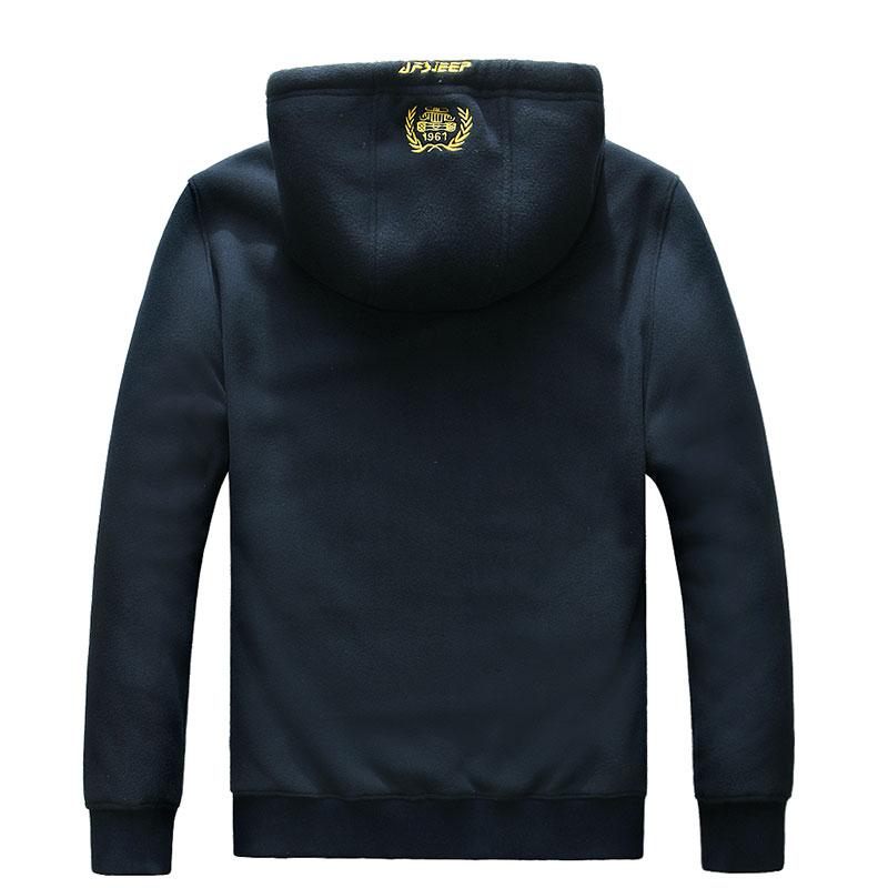 Size Arrivée Aisa Sweat Cardigan Solide Couleur À Size blue Capuche Nouvelle Green En army Size Automne Chaud Coton Black 2017 Vestes Hommes Polaire Asia Casual Manteau 4qf58nxUw