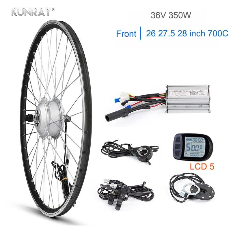 KUNRAY 36V 350W Electric Bike Kit For 26