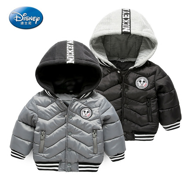Disney Winter Parka Kids Boys Jacket  Hooded Kids Girls Coat Long Sleeve WindProof Children Thick Cotton Warm Coat Outwear women winter coat leisure big yards hooded fur collar jacket thick warm cotton parkas new style female students overcoat ok238
