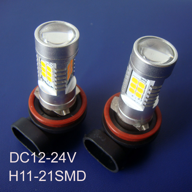 High quality 12/24VAC/DC 10W High power H8 Car Led Fog Lamp,Auto H11 Led Bulb Lamp light free shipping 2pcs/lot free shipping 2pcs lot superbright hight power 25w 12v car led brake light bulb for dodge ram 2500 1995 2010