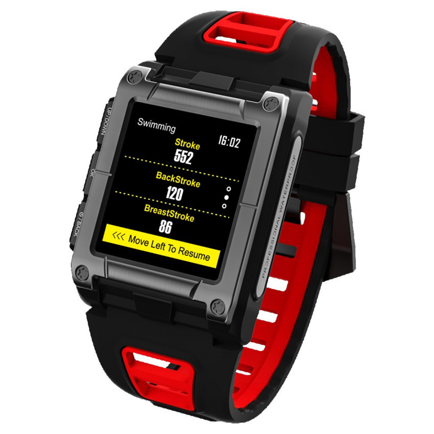 Smart GPS Tracker Swimming Watch S929 Position Recognition Swimming Automatic Recording of 11 Modes of Heart Rate GPS Locator