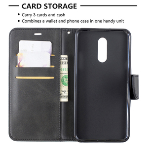 Image 5 - Caixa de couro do vintage para lg g6 g7 stylo 5 4 k50 q60 k8 k10 g8 thinq g8s capa flip suporte de cartão carteira magnética telefone casos