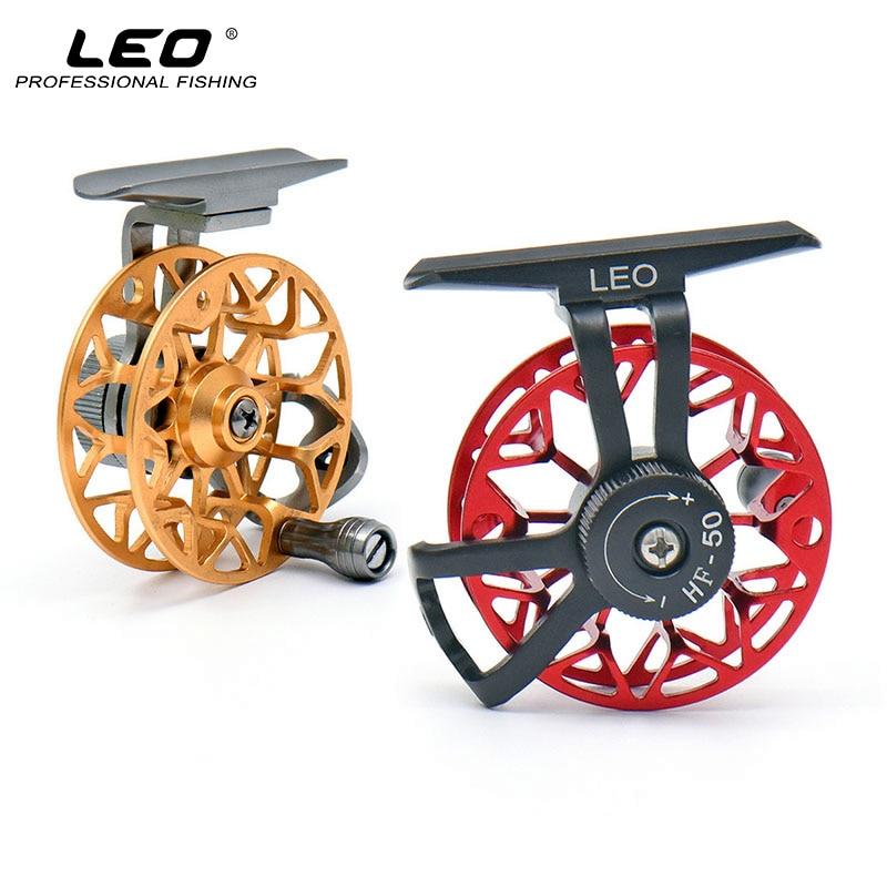 LEO Full Metal Ultra Light Fly Fiskehjul Högerhand Fiskehjul Mini - Fiske