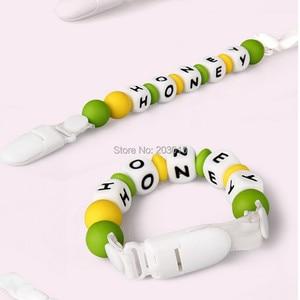 Image 5 - (5 cores misturadas) dhl 1000 pçs 1.5 cm kam marca chupeta de plástico bebê manequim suporte de corrente clipes para 15mm fita suspender clipes