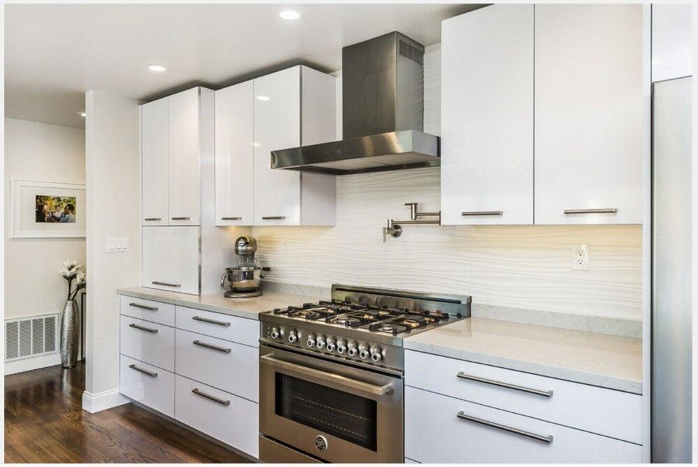 2015 современная кухня мебель high gloss white лак модульные кухонные шкафы Кухня производителей