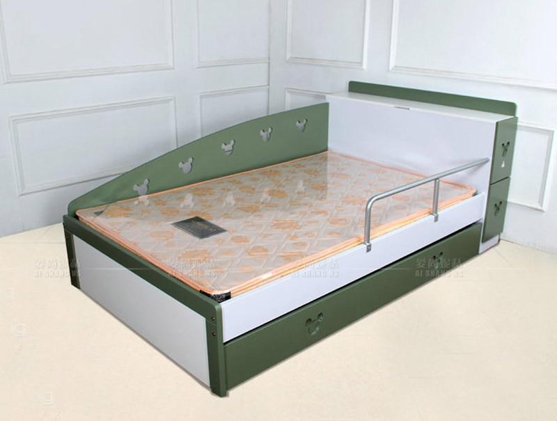 Bonito Doble Almacenamiento Marco Muebles Cama Componente - Muebles ...