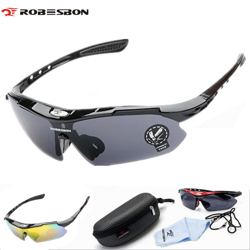 ROBESBON Cycling Eyewear PC Glasses Outdoor Sport Bicycle Cycling Sunglasses MTB Bike Ciclismo oculos Unisex Bicycle Glasses