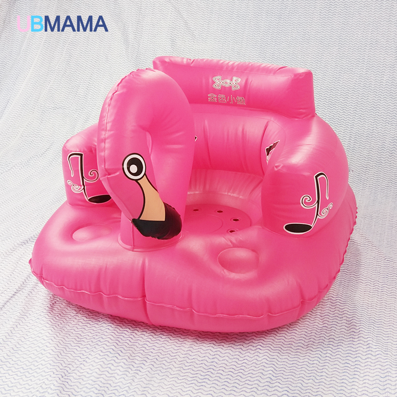Inflatable Seat Sofa: Bath Seat Dining Chair Baby Inflatable Sofa Pushchair Baby
