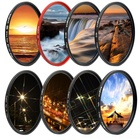 KnightX UV ND Star Camera Lens Filter For canon sony nikon 52mm 55mm 58mm 67mm 77mm photo 24-105 d5300 18-135 60d d5100 color