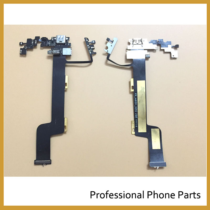 Original USB Charging Port Flex Cable For Lenovo ZUK Z1 Dock Connector Microphone Flex Cable Replacement