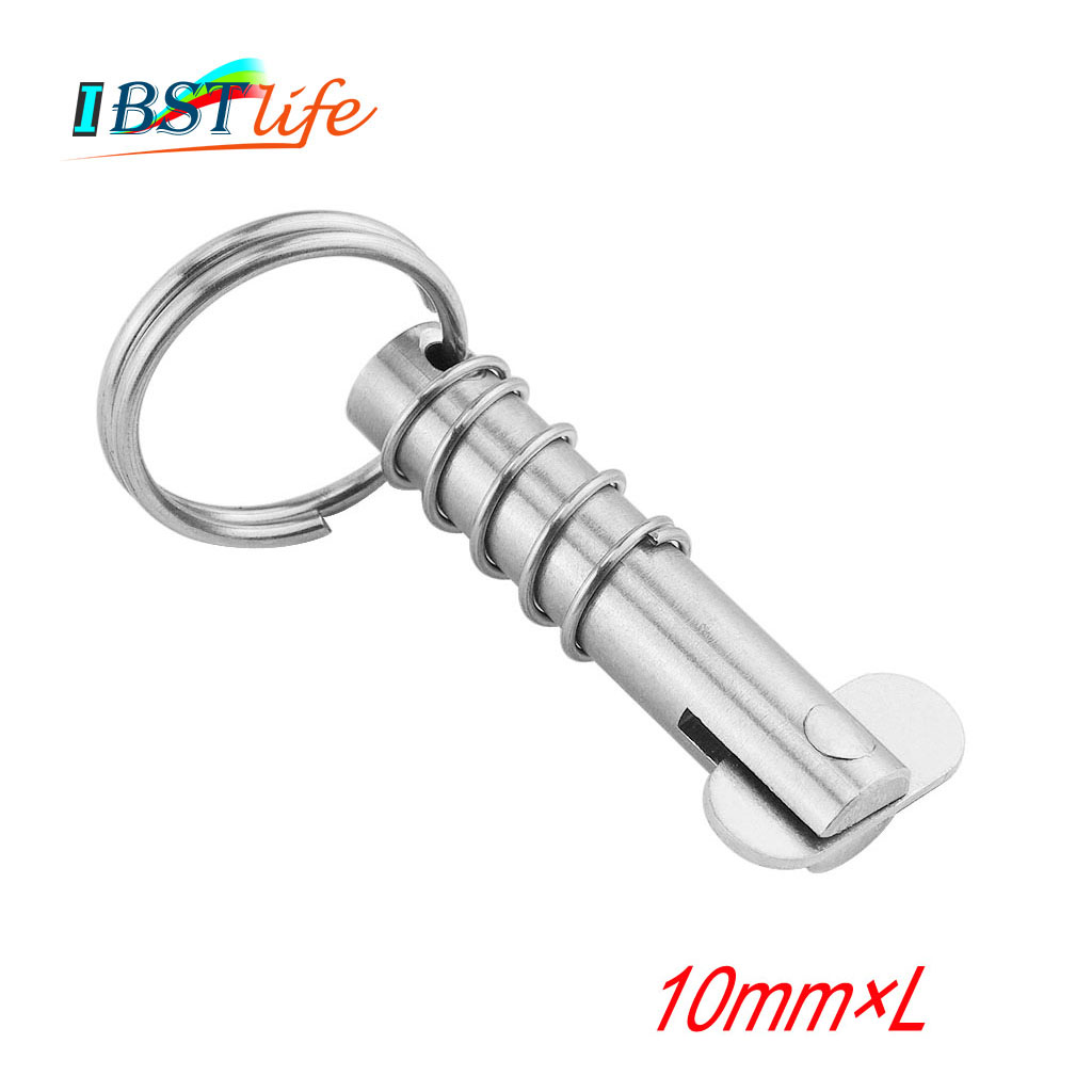 10mm Marine Grade Stainless Steel 316 Boat Quick Release Pin Marine Hardware Deck Hinge Replacement Accessories