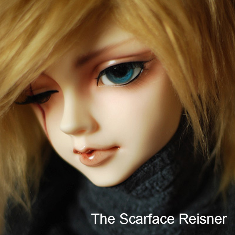 Sca Rface Reisner  1/3 BJD SD Dolls Resin Body Model Girls High Quality Toys For Girls Birthday Xmas Best Gifts