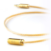 XiaoFan A44 Audio Extension Cable Headphone Splitter for Computer 3.5mm Female to 2 Male 3.5mm Mic Earphone to PC Adapter