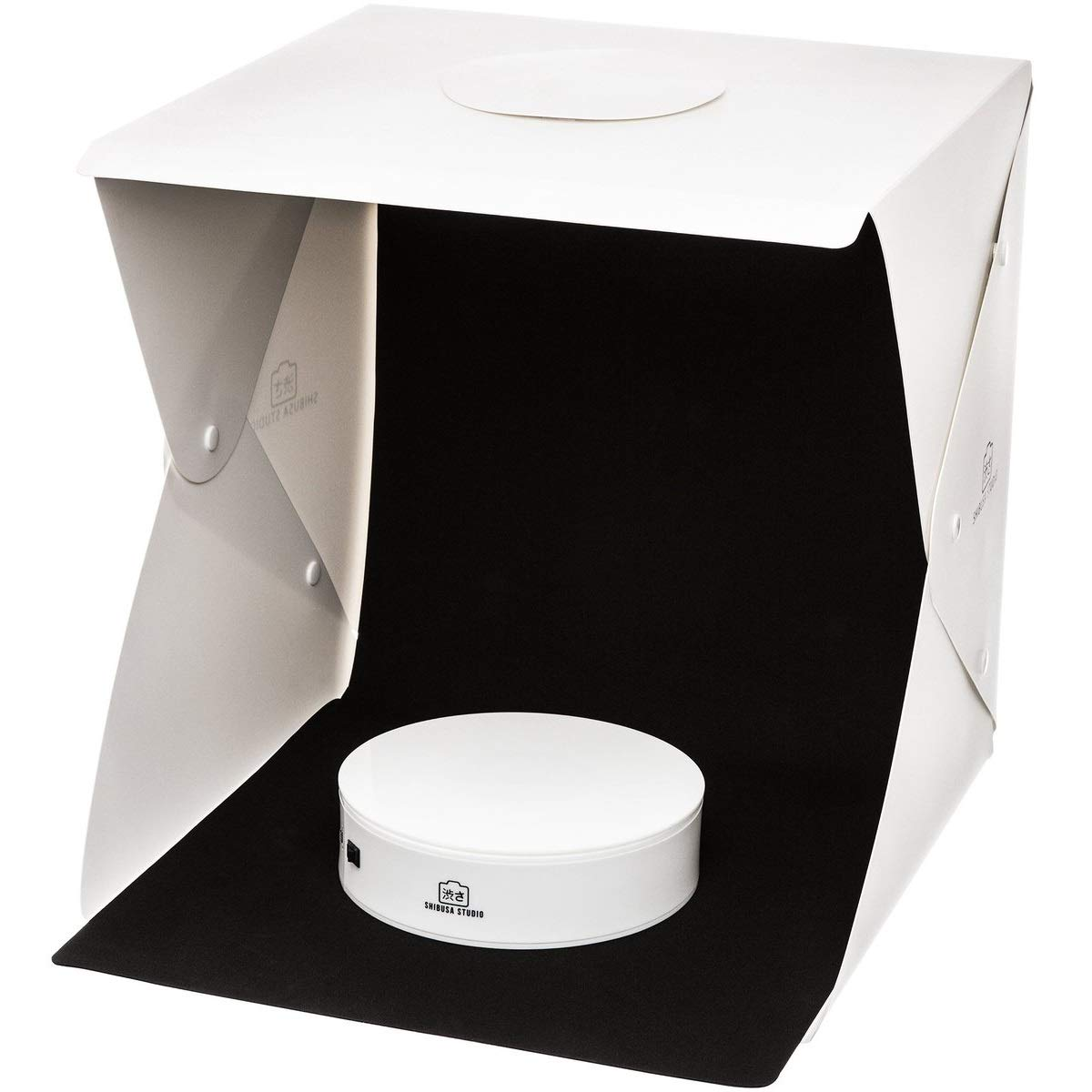 Large Shibusa Home Photo Studio Lightbox with Bonus 360/° Turntable