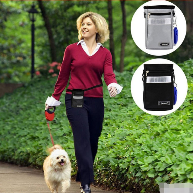 High Quality Pet Dog Training Snack Bags Dogs Food Bag Cylinder Style Convenience Carry to Taining Feeder Dogs