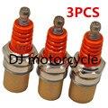3 шт./лот оранжевый L7T свеча зажигания для карманный велосипед Strimmer бензопила газонокосилка хедж-триммер резак 33 49CC мини-двигатель