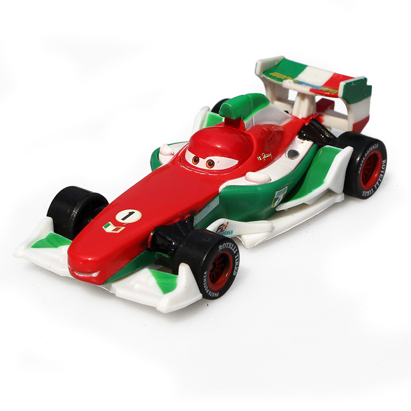 Disney Pixar Cars 2 Francesco Bernoulli Metal Diecast Alloy Toy Car Model For Children 1:55 Loose Brand New In Stock