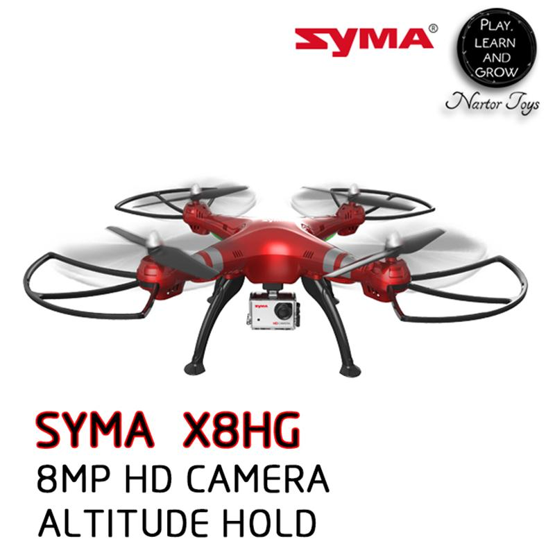 Nartor RC SYMA RC font b Drone b font with Camera 8MP HD Camera Altitude Hold