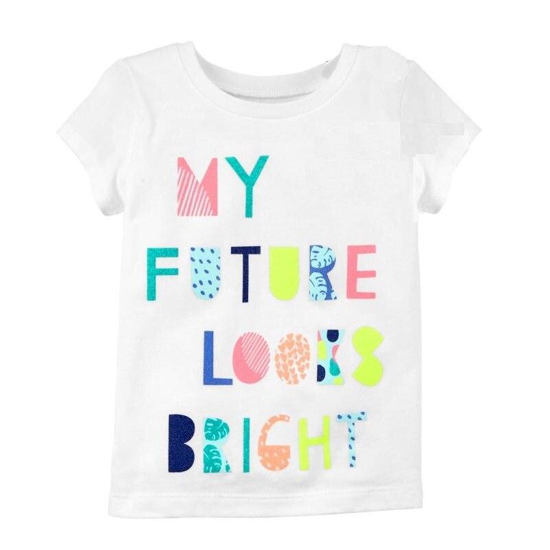 Kinder Mode Material T Baumwolle Baby Nette shirt Lässig Kurzarm rdxBQWeCo
