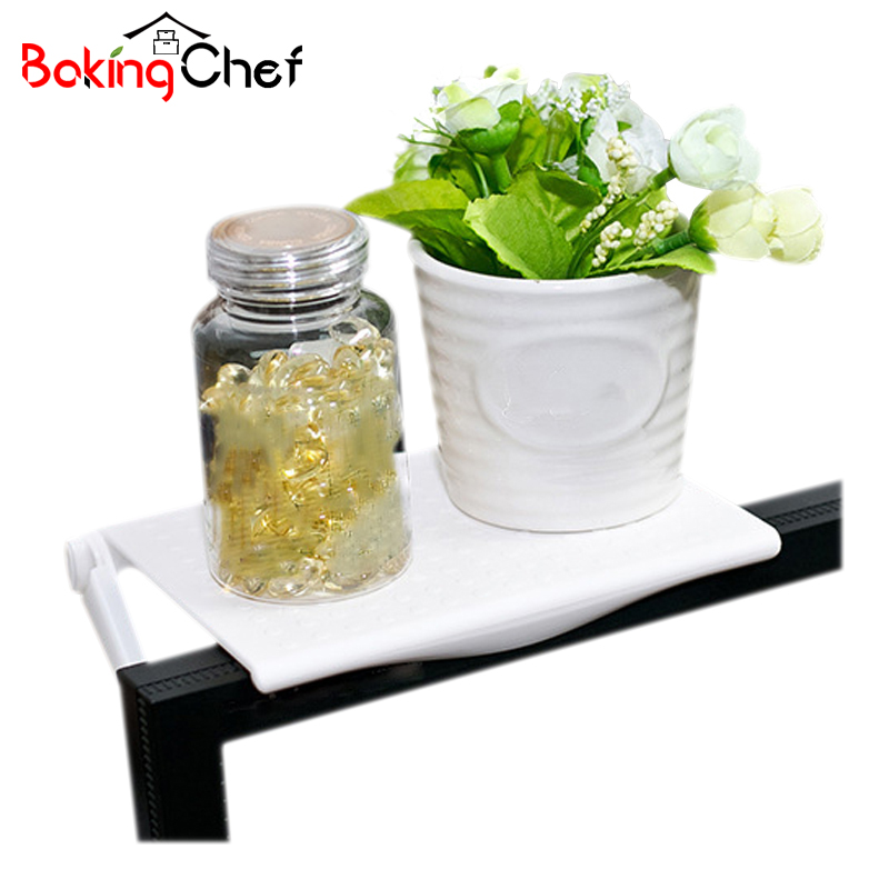 BAKINGCHEF PC Screen Shelf Office Desk Clean And Tidy Storage Multi-function Rack Accessories Supplies Gear Items Stuff Products