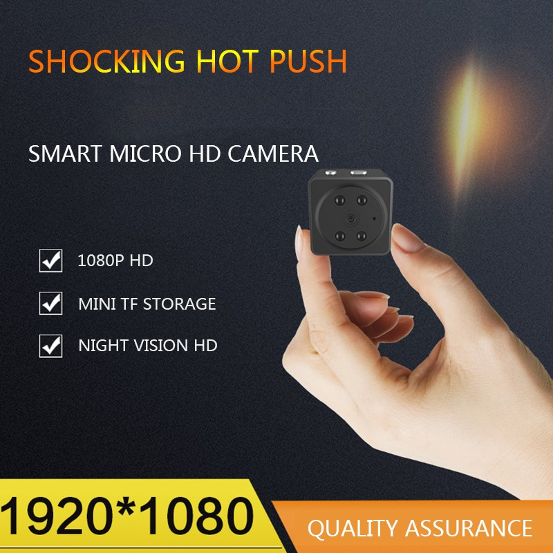 цена HD Mini Camera Small Cam 1080P Sensor Night Vision Camcorder Micro Video Camera DVR DV Motion Recorder Camcorder в интернет-магазинах