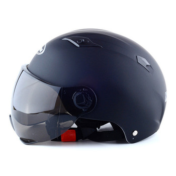 Motorcycle Scooter Open Face Half Helmet Electric Bicycle Riding Helmet ZHC703 Unisex Breathable Sunscreen Summer Helmet